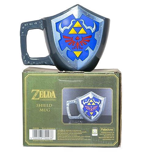 Paladone The Legend Of Zelda Hylian Shield Ceramic Coffee Mug
