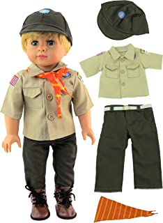 Boy Scout Outfit for 18 Inch Dolls | Fits 18