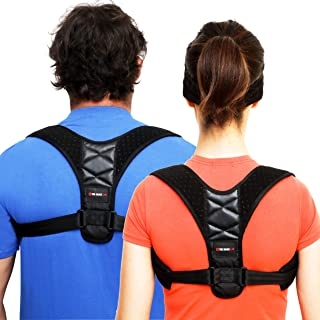 Comfort Posture Corrector for Women & Men - Small- Back Straightener Posture Corrector Slouch Corrector Clavicle Shoulder Support Back Brace Posture Body Wellness Neck Back Pain Relief FDA Approved