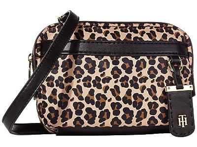 Tommy Hilfiger Julia Belt Bag (Black/Multi) Cross Body Handbags
