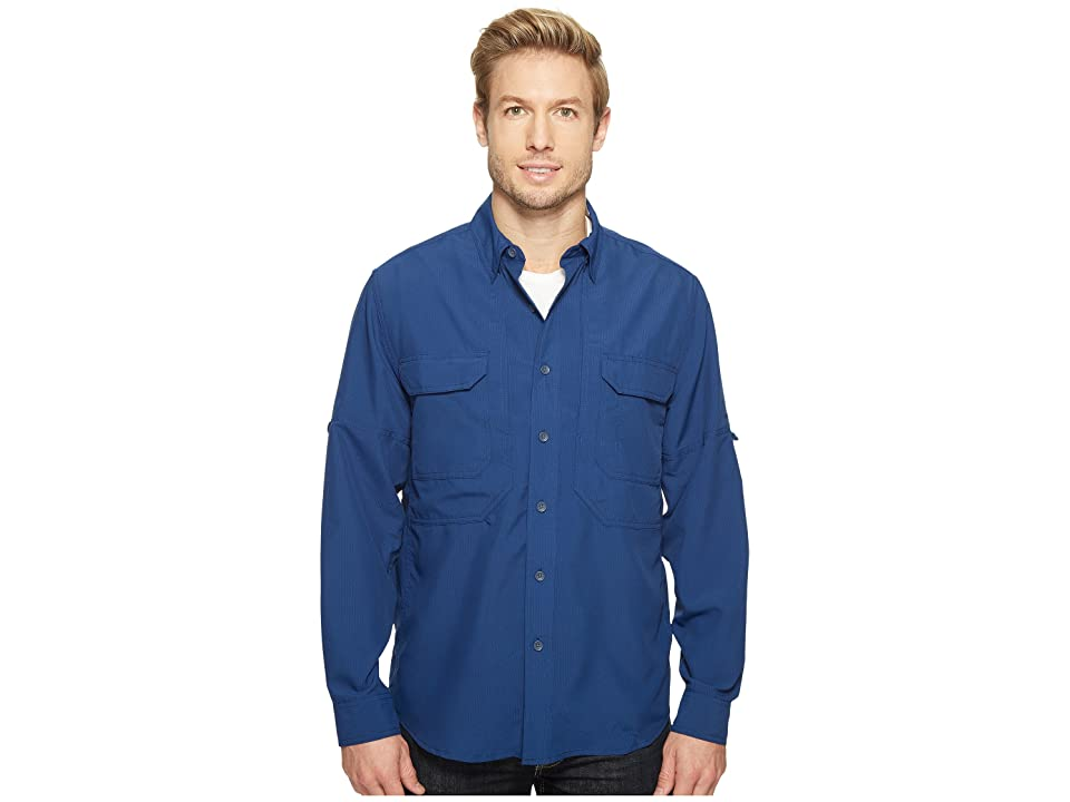 Royal Robbins Expedition Chill Long Sleeve (Twilight Blue) Men