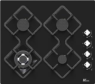 Plaque gaz Hudson HTG4BVN - 4 foyers