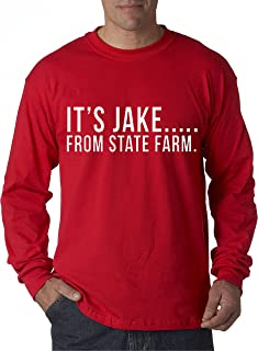 484 - Unisex Long-Sleeve T-Shirt It's Jake from State Farm Commercial Ad