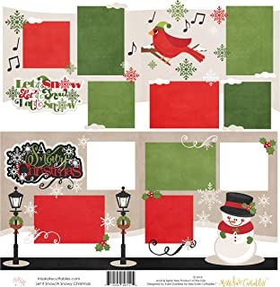 Two Printed Layouts - Let it Snow & A Snowy Christmas - 2-2 Page 12