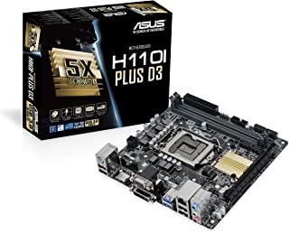 ASUS H110I-Plus - Placa Base (DIMM, DDR4-SDRAM, Intel H110)