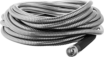 Bionic Steel 304 Stainless Steel Metal Garden Hose – Lightweight, Kink-Free, and..