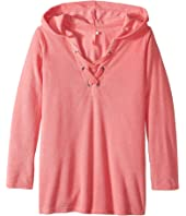 Seafolly Kids - Summer Essentials Hoodie (Little Kids/Big Kids)