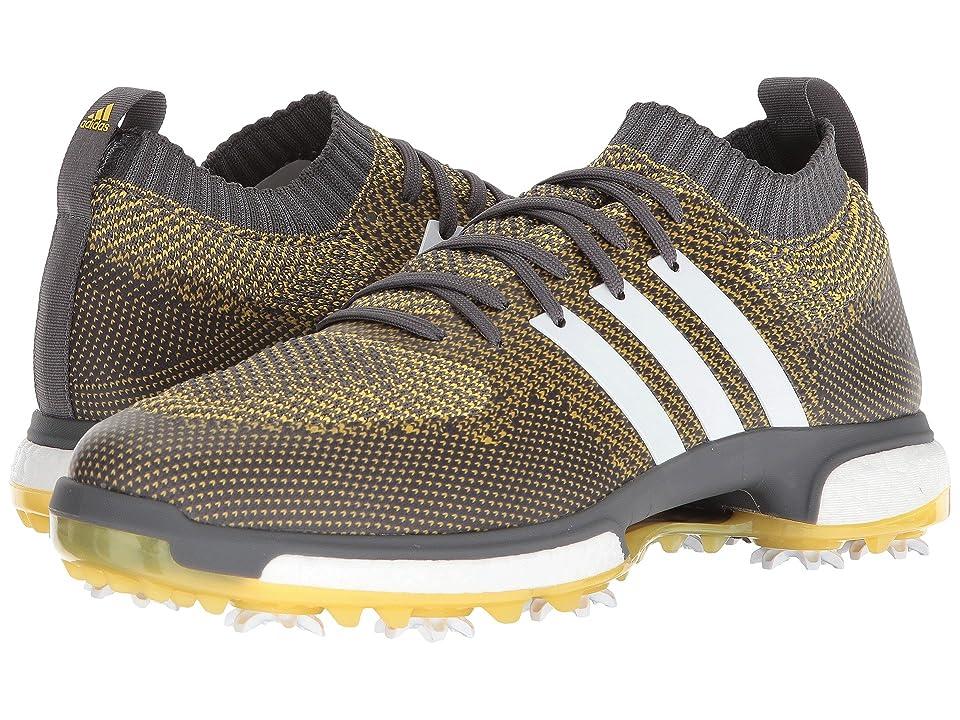 adidas Golf Tour360 Knit (Grey Five/Footwear White/EQT Yellow) Men