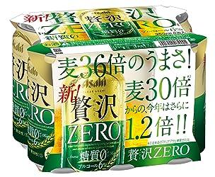 クリアアサヒ 贅沢ゼロ 350ml×6本