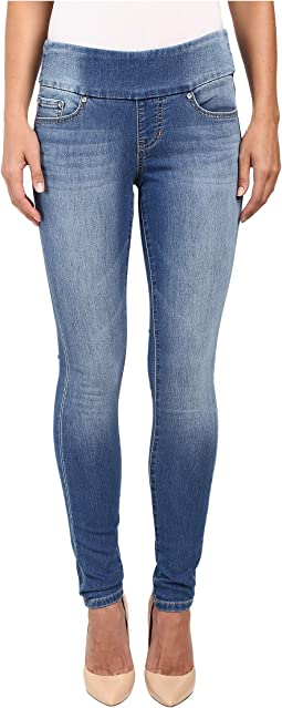 Jag Jeans Nora Pull-On Skinny Freedom Knit Denim in Vintage Classic