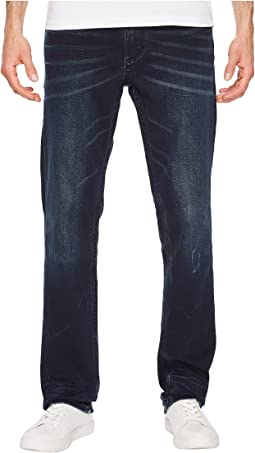 Slim Straight Jeans in Storm Indigo