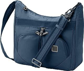 Lewis N. Clark RFID Blocking Anti-theft Satchel Messenger Bag for Women w/Adjustable Shoulder Strap