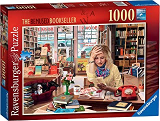 Ravensburger - The Bemused Bookseller 1000 Piece Jigsaw Puzzle for Adults & for Kids Age 12 and Up