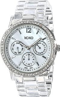 XOXO Womens Quartz Watch, Analog Display and Plastic Strap XO5529