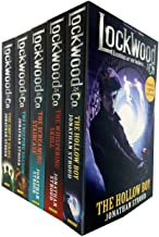 Lockwood and Co Series 5 Books Collection Set by Jonathan Stroud (The Screaming Staircase, The Whispering Skull, The Hollo...