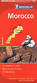 Michelin Map Africa Morocco 742 (Maps/Country (Michelin))