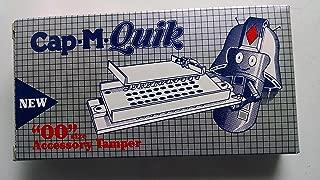 00 Capsule Tampers by Cap-M-Quick