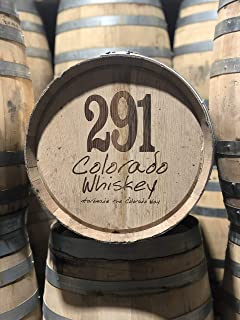 Freshly Emptied 10 Gallon Rye or Bourbon Whiskey Barrel