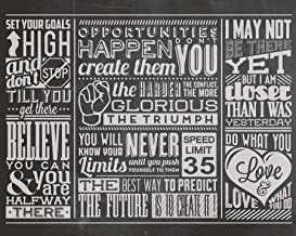 OhPopsi WALS0139 Chalk Quotes Wall Mural