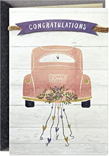 Hallmark Wedding Card, Bridal Shower Card, or Engagement Card (Enjoy The Journey)
