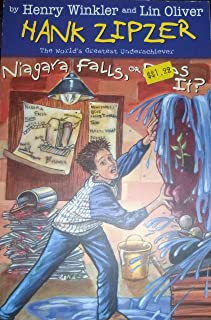Niagara Falls Or Does It #1: Hank Zipzer (PB)