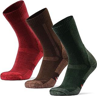 HIKING SOCKS メリノウール登山用靴下, ハイキング, トレッキング、アウトドア, 男女兼用, 春, 夏(3ペアセット or 1ペア)
