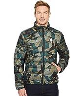 Geared Full Zip Synthetic Down Jacket