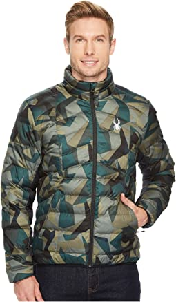 Geared Full Zip Synthetic Down Jacket