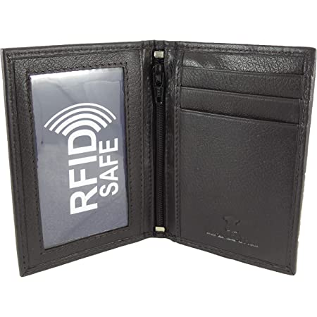 Real Leather Travel Oyster Card Holder with Twin ID Windows