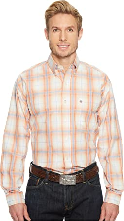 Stetson - 1515 Orange Plume Plaid