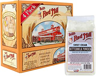 Bobs Red Mill Milk Powder Buttermilk, 24 Ounce Packages (Pack ...