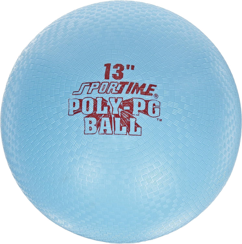 los últimos modelos Sportime Poly Jugarground Ball 13Pulgadas Azul Azul Azul  mejor oferta