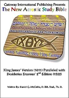 The New Acrostic Study Bible Vol. 5 - Parallel Erasmus Greek New Testament