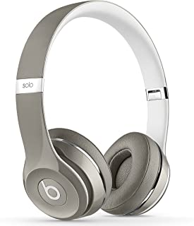 Beats MLA42AM/A Solo2 Luxe Edition Wired On-Ear Headphone - Silver