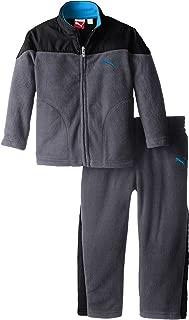 PUMA Little Boys' Curve Polar Fleece Set