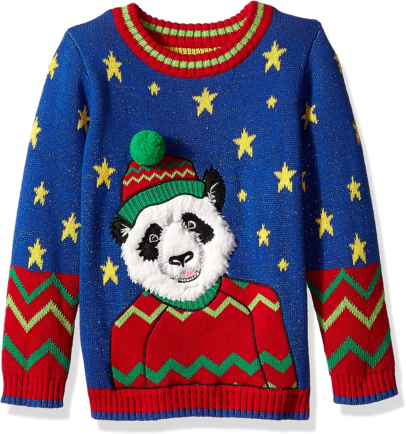 Blizzard Bay Boys Ugly New Free Shipping Sweater Chrismas Excellence Animals