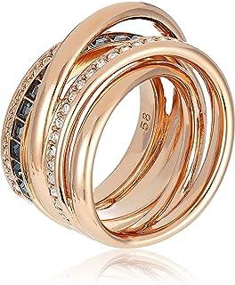 Swarovski Dynamic Ring, Rose Gold-Plated