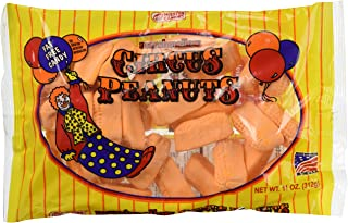 Melster Marshmallow Circus Peanuts (Pack of 2) 11 oz Bags