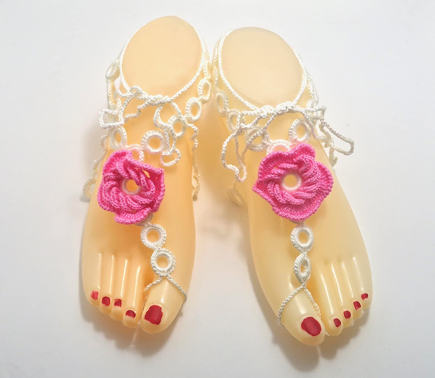 Handmade Bare-Foot Sales of SALE items quality assurance from new works Beach Sandals