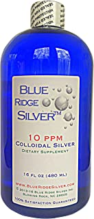 Blue Ridge Silver - 10 ppm 16 oz Colloidal Silver