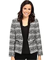 Ivanka Trump - Tweed One-Button Jacket