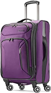 American Tourister Zoom Expandable Softside Luggage with Dual Spinner Wheels