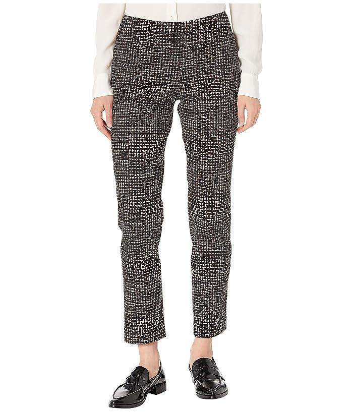 NIC+ZOE  Abstract Tweed Wonderstretch Pants (Multi) Womens Casual Pants