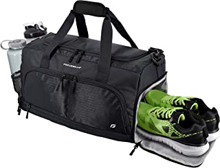 Ultimate Gym Bag 2.0: The Durable Crowdsource Designed Duffel Bag with 10 Optimal Compartments Including Water Resistant P...