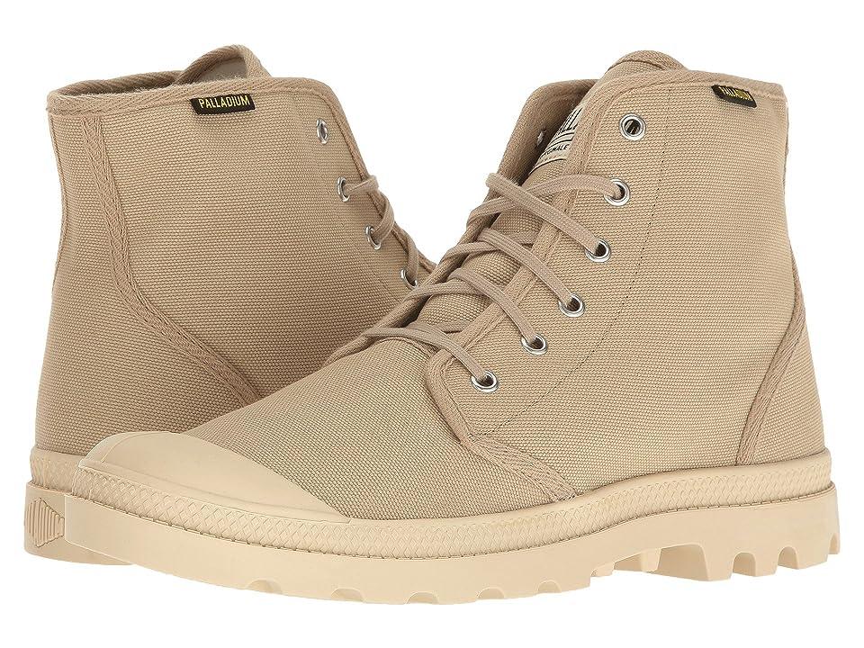 Palladium Pampa Hi Originale (Sahara/Ecru) Lace-up Boots