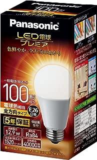 パナソニック LED電球 口金直径26mm プレミア 電球100形相当 電球色相当(12.9W) 一般電球 全方向タイプ 1個入り 密閉器具対応 LDA13LGZ100ESW