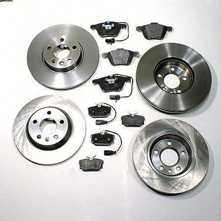 Bremsscheiben 16 Zoll Bremsen Bremsklötze Für Vorne Hinten Auto