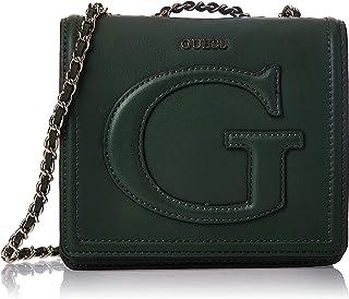 GUESS Womens Chrissy Mini Crossbody Flap Bag