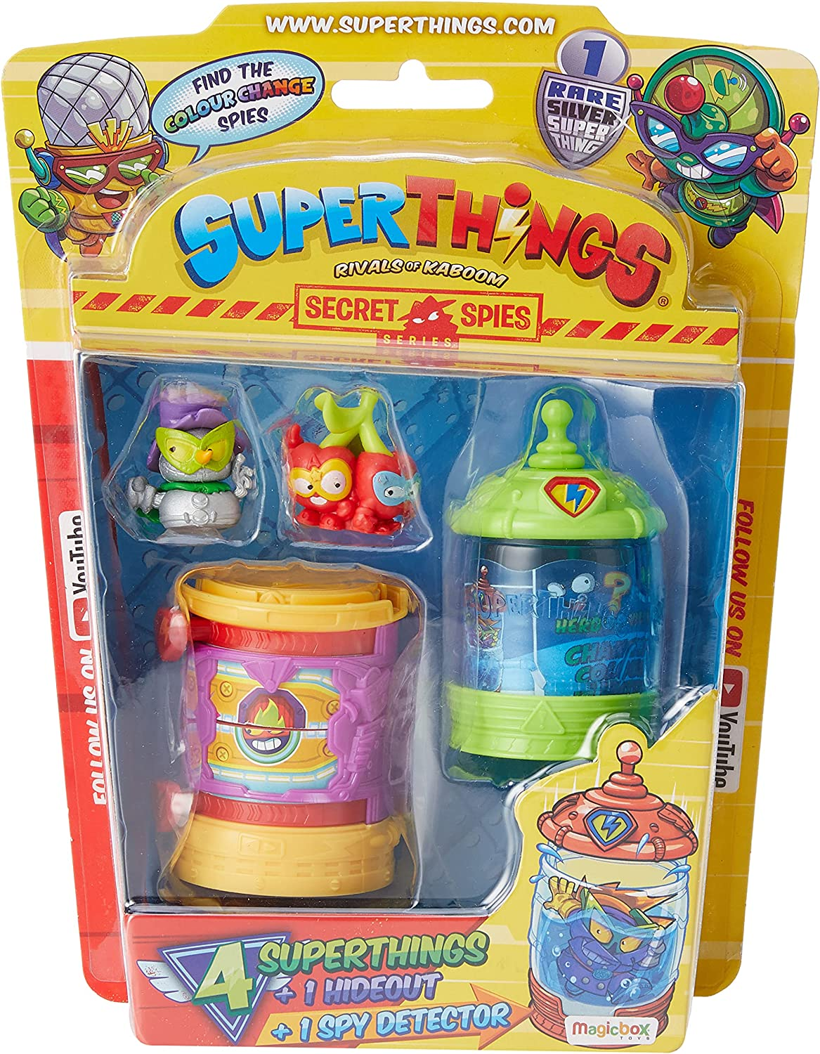 SuperThings Rivals Kaboom - Secret Tulsa Mall PST6B416IN00 Blister Spies Time sale