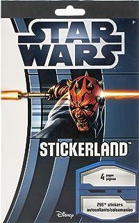 STLPAD4P Star Wars - The Saga STICKERLAND 4 Page Pad
